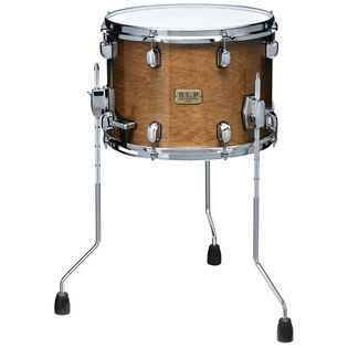 tama s.l.p. duo birch snare drum with floor tom legs - 14x10