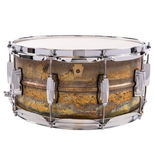 ludwig raw brass snare drum - 14x6.5