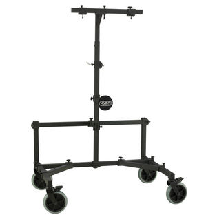 adams gong stand with field wheels