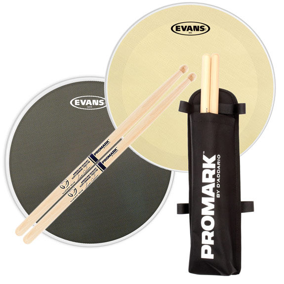 evans marching snare head pack with free sticks quiver marching snare drum heads steve. Black Bedroom Furniture Sets. Home Design Ideas