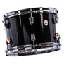 "black cortex - ludwig neusonic 3 piece shell pack with 20"" bass drum"