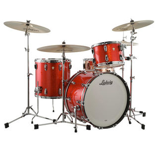 "ludwig classic maple fab 3 piece shell pack with 22"" bass"