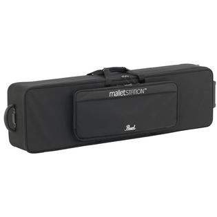 pearl malletstation semi hard side rolling case