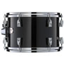 yamaha absolute maple hybrid 3pc shell pack solid black - 12x8, 14x13, 18x14