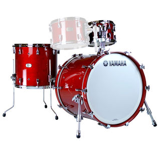"yamaha absolute hybrid maple 3 piece shell pack with 18"" bass drum"