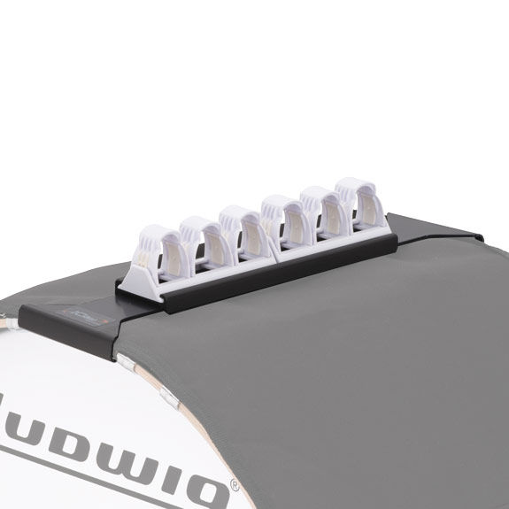 ludwig marching bass drum hoop guard and mallet holder marching bass drum accessories. Black Bedroom Furniture Sets. Home Design Ideas