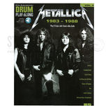 hal leonard drum play-along-metallica 1983-1988 vol. 47 (audio access included)