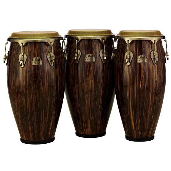 pearl elite series congas wood fiber congas world percussion steve weiss music. Black Bedroom Furniture Sets. Home Design Ideas