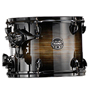 "black dawn - mapex 6 piece armory studioease shell pack - 22"" bass"