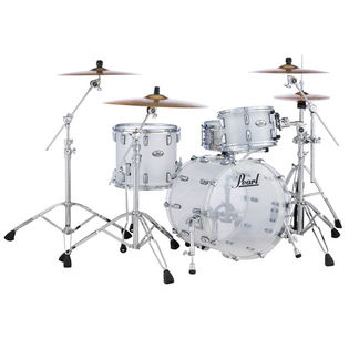 "pearl crystal beat 3 piece shell pack - 20"" bass drum"