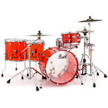 "pearl crystal beat 4 piece shell pack - 22"" bass drum"