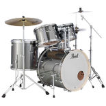 pearl export exx 5 piece drum set with hardware and cymbals - 22′ bass drum