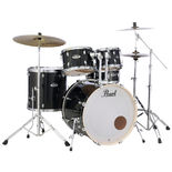 Pearl Export EXX 5 Piece Drum Set with Hardware and Cymbals - 22″ Bass Drum Alternate Picture