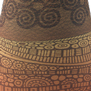 remo flareout djembe drum - desert brown-13