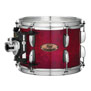 pearl session studio select 4pc shell pack 24x14, 13x9, 16x16, 18x16 - antique crimson burst