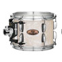 pearl session studio select 4pc shell pack 24x14, 13x9, 16x16, 18x16 - nicotine white marine pearl