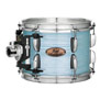 pearl session studio select 4pc shell pack 24x14, 13x9, 16x16, 18x16 - ice blue oyster