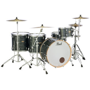 "pearl session studio select 3 piece shell pack with free floor tom - 24"" bass drum"
