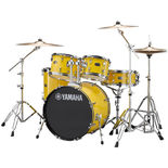 "yamaha rydeen 5-piece drum set with hardware and cymbals - 20"" bass drum"
