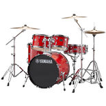 "Yamaha Rydeen 5 Piece Drum Set with Hardware and Cymbals - 20"" Bass Drum Alternate Picture"