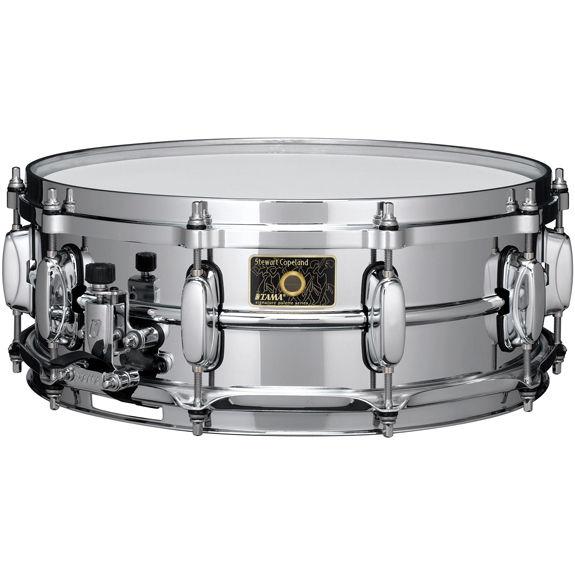 tama stewart copeland brass snare drum 14x5 metal snare drums snare drums steve weiss music. Black Bedroom Furniture Sets. Home Design Ideas