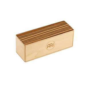 meinl small wood shaker - exotic zebrano