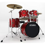 "Tama Imperialstar 5 Piece Drum Set with Hardware and Meinl HCS Cymbals - 18"" Bass Drum Alternate Picture"
