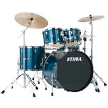 "Tama Imperialstar 5-Piece Drum Set with Hardware and Meinl HCS Cymbals - 20"" Bass Drum Alternate Picture"