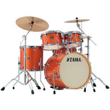 "tama superstar classic 5 piece shell pack - 20"" bass drum"