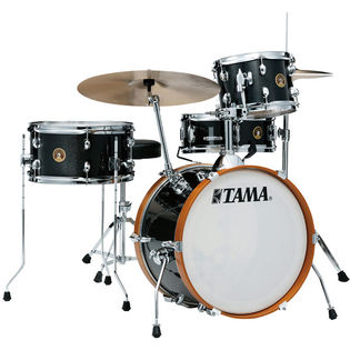 "tama club jam 4 piece wrap finish shell pack - 18"" bass drum"