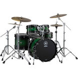 "yamaha live custom 4 piece shell pack - 22"" bass drum"