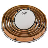 Pearl Frame Drum Complete Set with smooth Heads (Set of 6) Alternate Picture