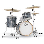 "gretsch renown 3 piece maple shell pack premium finish - 18"" bass drum"