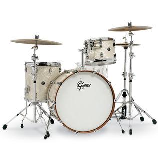 gretsch renown 3 piece rock shell pack premium finish 24 bass drum drum sets drum set. Black Bedroom Furniture Sets. Home Design Ideas