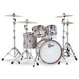 "gretsch renown 4 piece maple shell pack premium finish - 22"" bass drum"