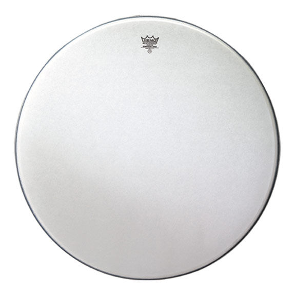 remo 40 coated ambassador concert bass drum head concert bass drum heads concert drum heads. Black Bedroom Furniture Sets. Home Design Ideas