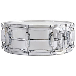 ludwig chrome plated aluminum supraphonic snare drum - 14x5 (b stock)