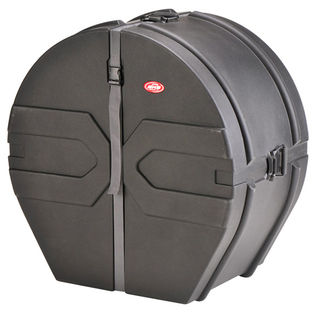 skb marching bass drum case