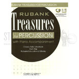 various-rubank treasures for percussion (audio access included)