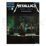 hal leonard drum playalong-metallica: 1991-2016 vol. 48 (audio access included)