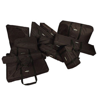 malletech car cases for 5 octave marimbas (11 bag set)
