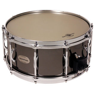 black swamp titan brass snare drum - soundart - 14x6.5
