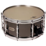 black swamp soundart  titan brass snare drum - 14x6.5 (pre-2020 soundart snare strainer)