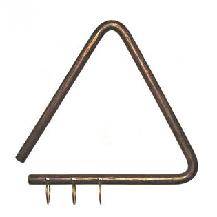 "living sound 7 1/2"" alla turca triangle with jingling rings"