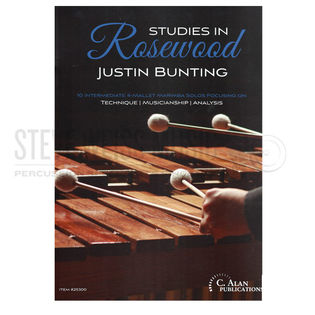 bunting-studies in rosewood