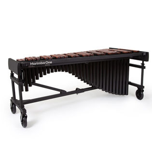 marimba one 4.3 octave wave series marimba with traditional keyboard and classic resonators