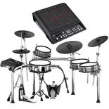 roland td-50kv v-drums electronic drum set with free spd-sx sample pad