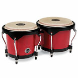 lp city series wood bongos - red