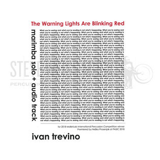 trevino-warning lights are blinking red, the-m/ prerecorded sounds