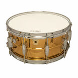ludwig bronze phonic snare drum - 14x6.5